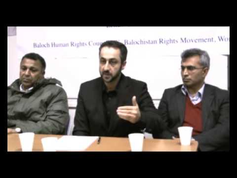Part3 London 2nd Anniversary of Martyr Mir Balach Marri  22nd November 2009
