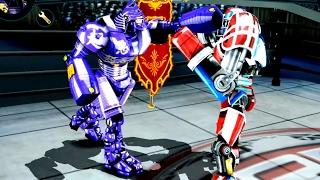 getlinkyoutube.com-Real Steel WRB Noisy Boy VS Touchdown NEW Robot updating (Живая Сталь)