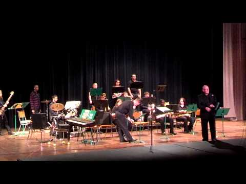 UAM Jazz Band 3 Full Concert 04-15-2014