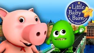 getlinkyoutube.com-London Bridge Is Falling Down | Nursery Rhymes | by LittleBabyBum!
