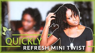 getlinkyoutube.com-How To ~ Quick Way To Refresh Mini Twist (for longer wear)