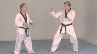 Taekwondo combat - Technique de compétiton