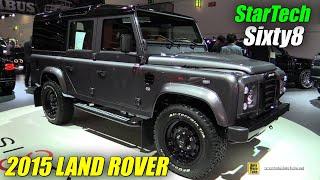 2016 Land Rover Startech Sixty8 Edition - Exterior, Interior Walkaround   2015 Frankfurt Motor Show