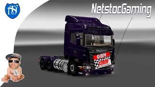 Euro Truck Simulator 2, ETS 2, Mods Reviews SCANIA R V 4 by ROBERT LIMA │NetstocGaming