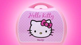 getlinkyoutube.com-Play Doh Hello Kitty Mini Kitchen Playset ハローキティ Mini Cocina Juguetes Hello Kitty Pastry Shop