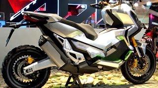getlinkyoutube.com-EICMA 2015: HONDA CityADV ( Video BEST 4K )