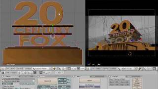 getlinkyoutube.com-How to Make a 20th Century Fox Intro with Blender