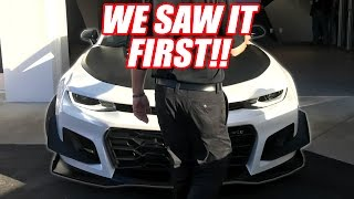 FIRST LOOK! Chevy's NEW CAMARO is CRAZY ! (ZL1 1LE)