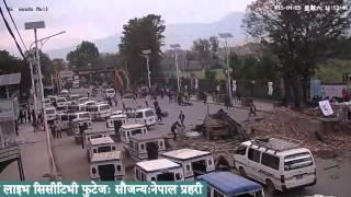 getlinkyoutube.com-LIVE footage of earthquake in Kathmandu