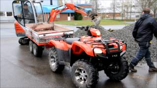 getlinkyoutube.com-Honda / PATS ATV DUMPER
