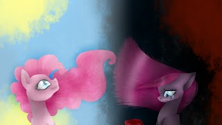 getlinkyoutube.com-MLP Speedpaint in Paint Tool Sai -  Pinkamina Diana Pye two persons in a pony