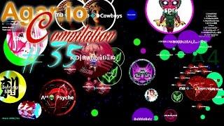 getlinkyoutube.com-Agar.io Compilation #35 | Win, Fail & Funny moments
