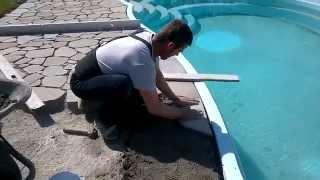 getlinkyoutube.com-Marko Placare piatra piscina