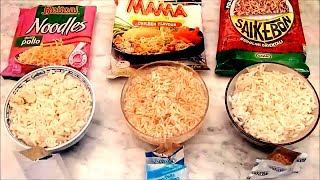 getlinkyoutube.com-Review noodles SAIKEBON, BUITONI e MAMA