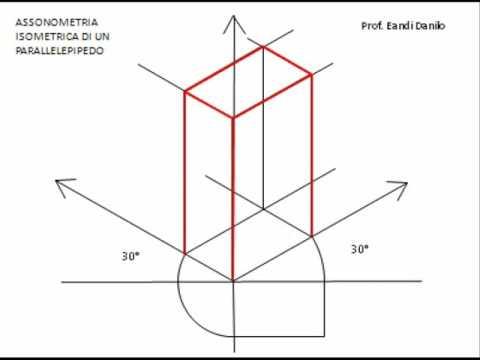 Come fare l 39 assonometria isometrica di un parallelepipedo for Creare piani di costruzione