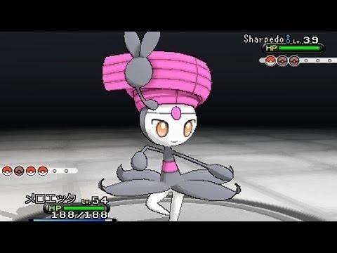Pokemon X & Y: Shiny Meloetta, Shiny Celebi, & Shiny Jirachi