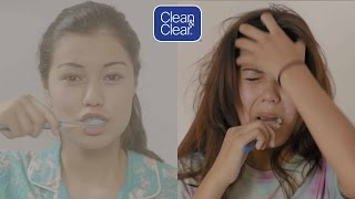 getlinkyoutube.com-Morning Routines: Expectations Vs. Reality // Presented by BuzzFeed & Clean and Clear