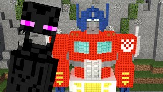 getlinkyoutube.com-Monster School: Build Battle - Minecraft  Animation
