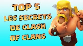 getlinkyoutube.com-TOP 5 Des Meilleurs Secrets | Clash Of Clans