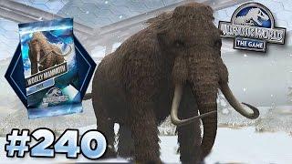 getlinkyoutube.com-Full Mammoth Tournament!    Jurassic World - The Game - Ep240 HD
