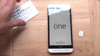 getlinkyoutube.com-HTC One E8 - распаковка, включение, предварительный обзор