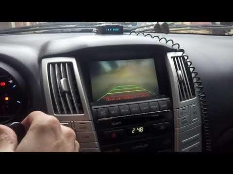 Омыватель камеры заднего вида Lexus RX 330