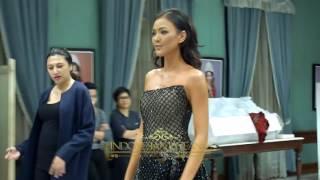 Kezia Warouw Miss Universe 2016 Evening Gown Kejora by Ivan Gunawan
