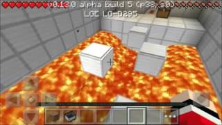 getlinkyoutube.com-MINECRAFT PE 0.13.0 PARKOUR HARD #1 ZERANDO O MAPA !