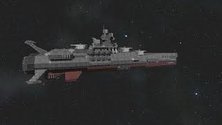 getlinkyoutube.com-Space Engineers - Space Battleship Yamato  tribute