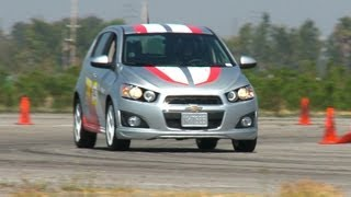 Autocross 101 with the Chevrolet Sonic - The Downshift Episode 29