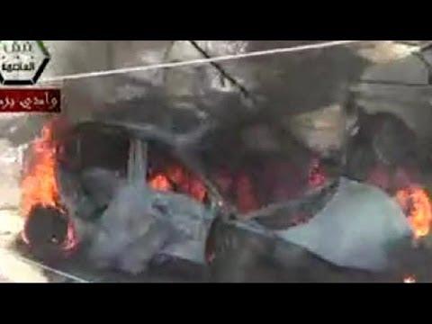 Φονική έκρηξη στα περίχωρα της Δαμασκού