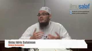 getlinkyoutube.com-Ustaz Idris Sulaiman - Hukum Bergambar