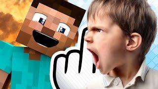 getlinkyoutube.com-11歳のアメリカ人いじめたら親乱入が乱入して大喧嘩?! マイクラ荒らし#49
