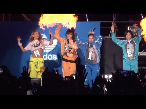 2NE1 'FIRE' Live on Snoop Doog concert (스눕독 내한공연)