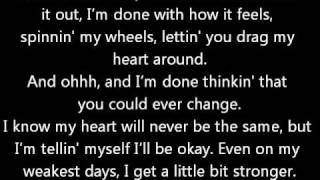 getlinkyoutube.com-A Little Bit Stronger - Sara Evans (w/ lyrics)