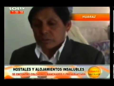 Hostales pulgosos en Huaraz