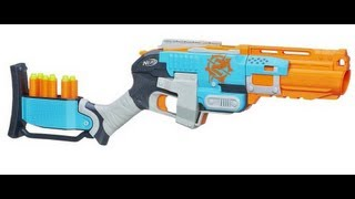 getlinkyoutube.com-NERF Zombie Strike Sledgefire Unboxing And Review