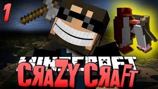 getlinkyoutube.com-Minecraft CRAZY CRAFT 1 - WTF IS THIS (Minecraft Mod Survival)
