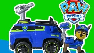 getlinkyoutube.com-PAW PATROL *New* Spy Chase with Spy Police Cruiser at Paw Patrol Look Out with all Paw Patrol Pups