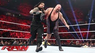 getlinkyoutube.com-Roman Reigns vs. Big Show - WWE World Heavyweight Championship Tournament: Raw, November 9, 2015