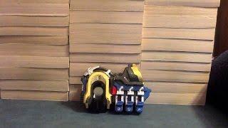 getlinkyoutube.com-Kamen Rider Fourze Shimon Ninsho Brace DX Meteor Galaxy Review