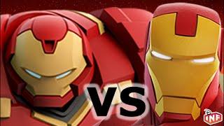getlinkyoutube.com-Hulkbuster vs Iron Man sarlacc pit arena fight Disney Infinity toy box