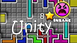 getlinkyoutube.com-Geometry Dash - Unity by Triaxis and Funnygame