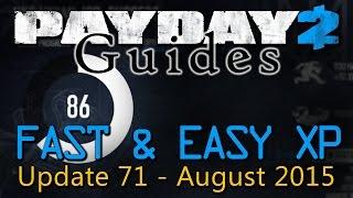 getlinkyoutube.com-Payday 2 - Fast & Easy XP Guide - 2015 / 2016