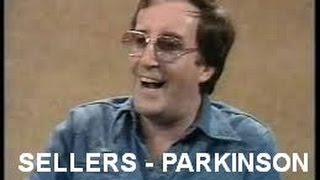 getlinkyoutube.com-Peter Sellers - Parkinson Interview: very funny!
