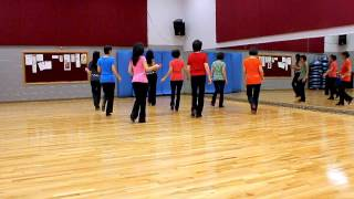 Blueberry Chill - Line Dance (Dance & Teach in English & 中文)