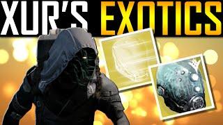 getlinkyoutube.com-Destiny - OPENING XUR'S EXOTIC ENGRAMS!