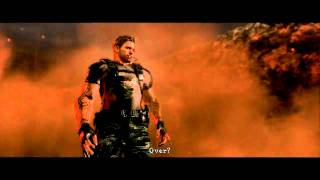 getlinkyoutube.com-HD Resident Evil 5 : Wesker Midnight with his M500 in The Final Curtain Cutscene