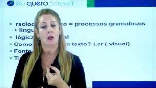 LEITURA E INTERPRETAÇÃO DE TEXTOS PARA CONCURSOS PÚBLICOS - AULA 01