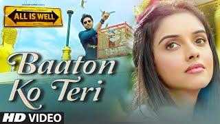 'Baaton Ko Teri' VIDEO Song | Arijit Singh | Abhishek Bachchan, Asin | T-Series